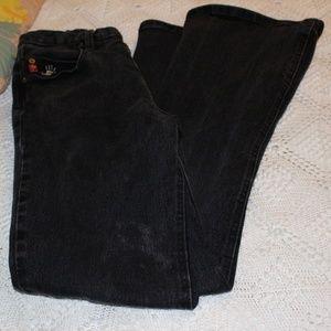 Mudd Flare Leg Black Jeans